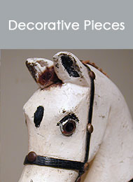 click here to view a list of our Decorative pieces...