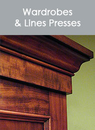 click here to view a list of our Wardrobes and Linen Presses...